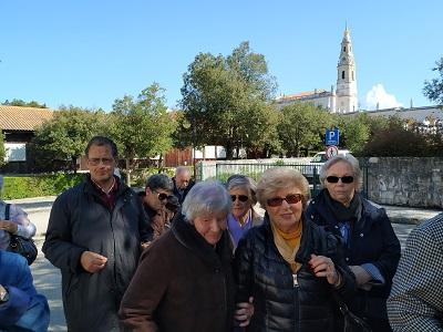 Peregrinação anual ao Santuário de Fátima