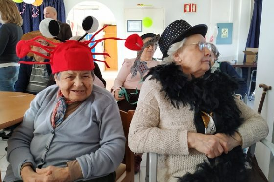 Festa de Carnaval na Fundação